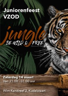 Be Wild and Free -Juniorenfeest 2020