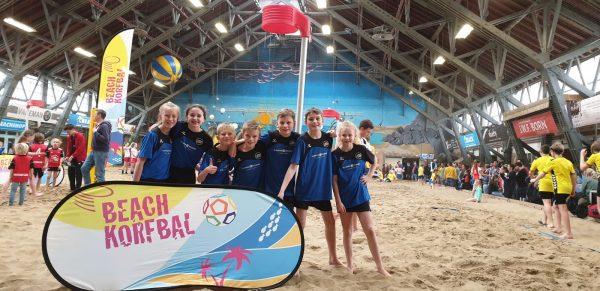 VZOD D1 3e op NK Beachkorfbal