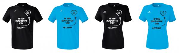 #stayfit-shirts om VZOD te steunen